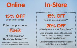 Walgreens Photo Coupon Promo Code